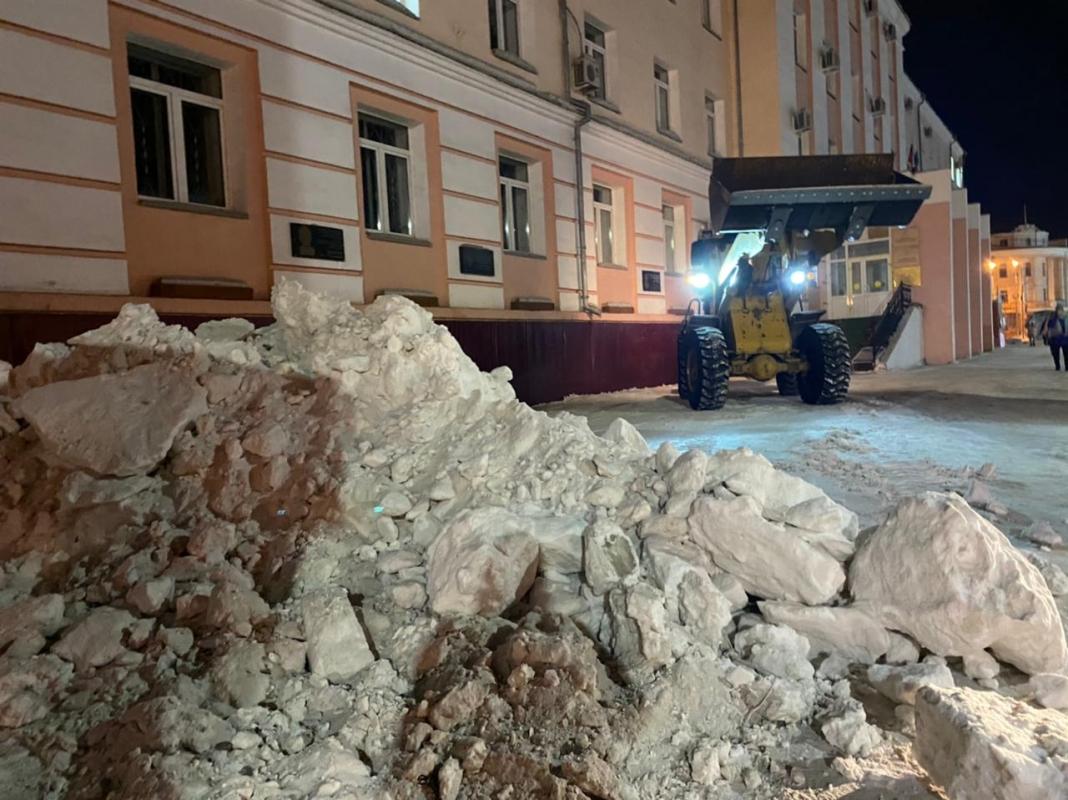 Какая из управ округов Якутска лучше освещает уборку снега