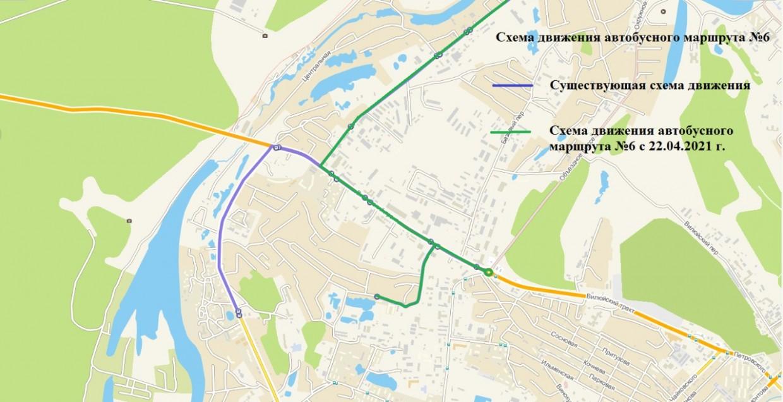 Столичные власти продлили путь до «конечки» автобусного маршрута №6