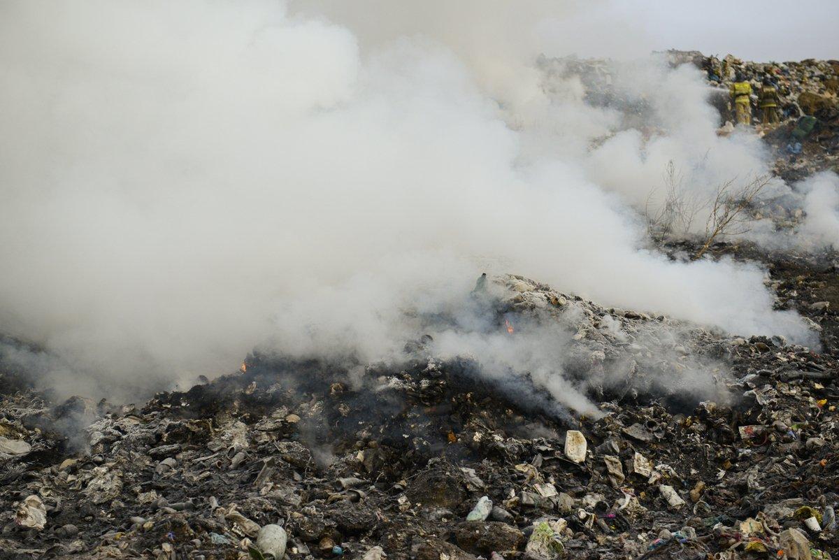 Холдинг предложил мониторить возгорания на городской свалке