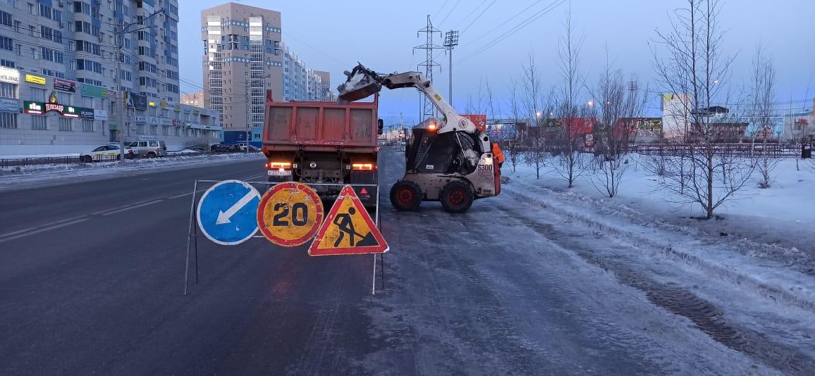 21 тысяча кубометров снега вывезена за три дня