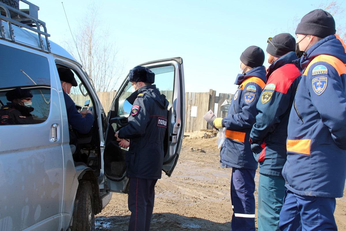 Транспортная полиция и Служба спасения проводят акцию «Безопасный лед»