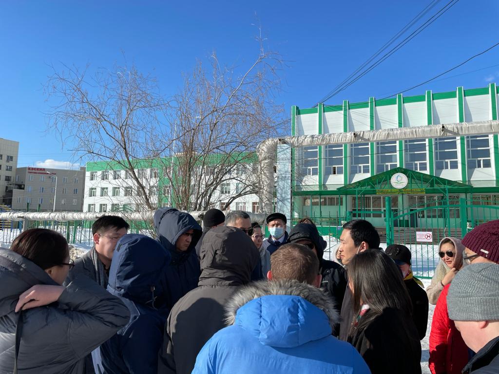В столице обсудили строительство пристроя к школе № 2