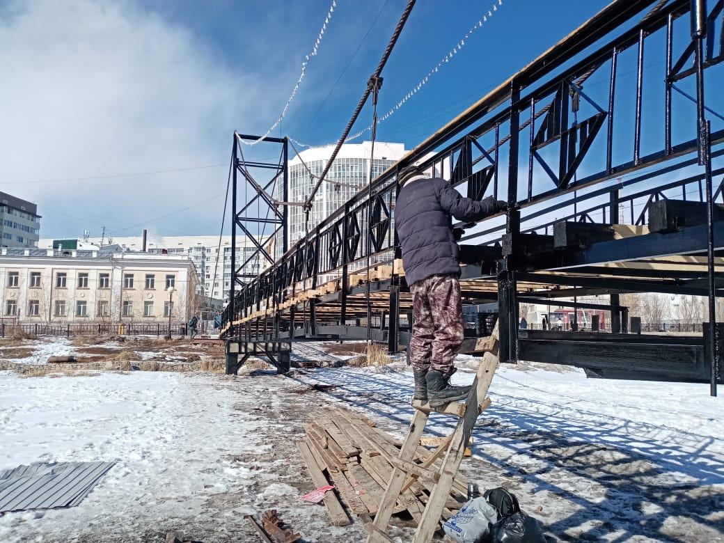 Завершается ремонт мостов