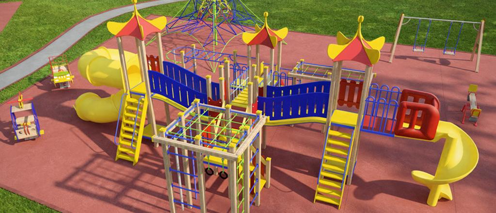 «Sinet Group» подарит Якутску 10 детских площадок