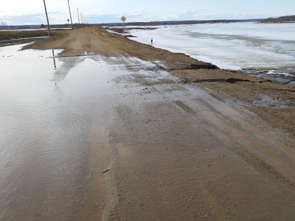 Комиссия рассмотрит вопрос размытия дороги в микрорайоне «Северный»