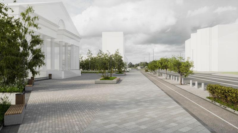Проспект Ленина. Этап 2021 года: экспертиза,  материалы, замена грунта
