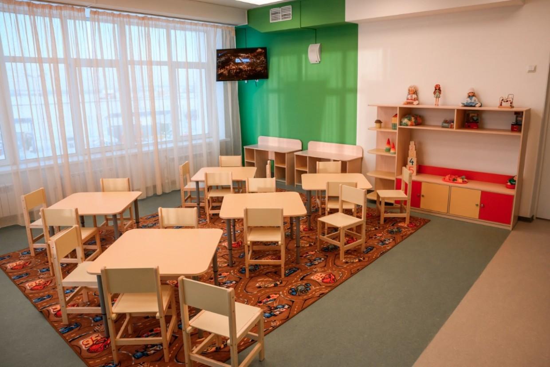 Столичные детские сады работают в обычном режиме