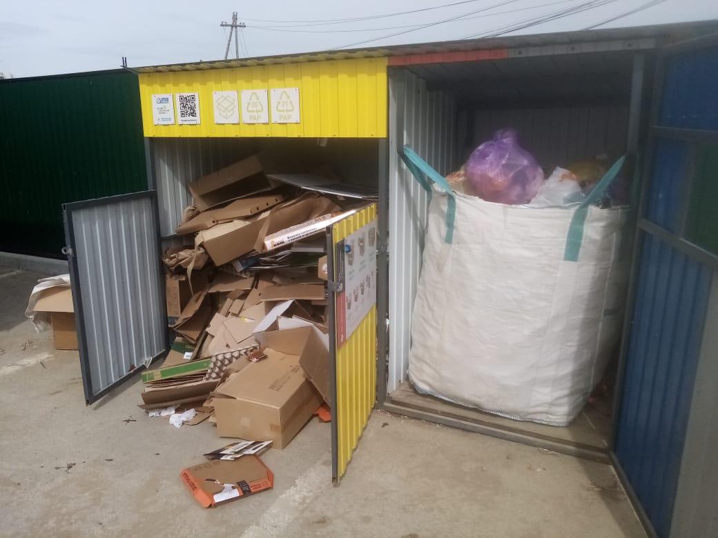 Пункты раздельного сбора мусора в Якутске