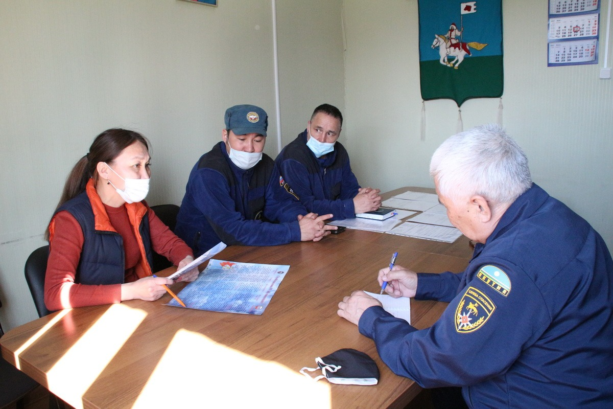 Служба спасения выставляет посты безопасности в районе столицы