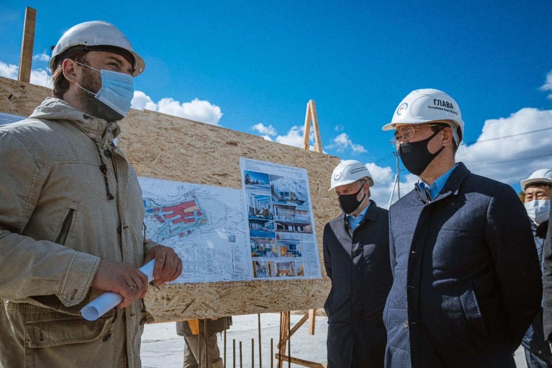 В районе Табагинского мыса строят детский оздоровительный центр