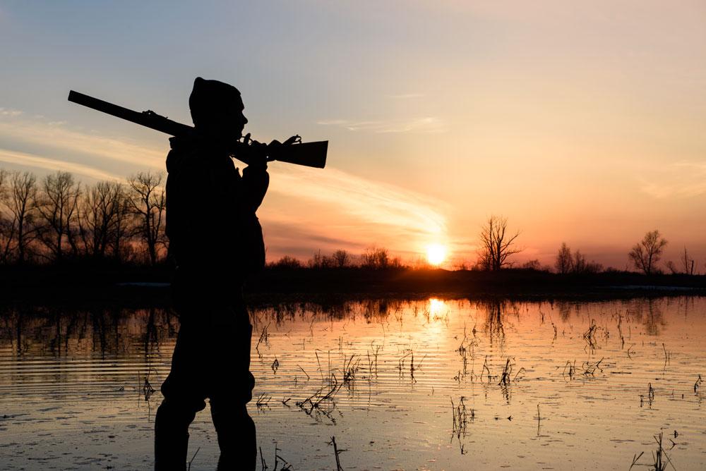 Охотники не рискуйте!