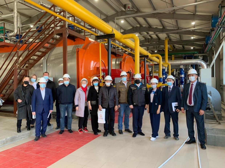Депутаты побывали в новой котельной «Теплоэнергии»