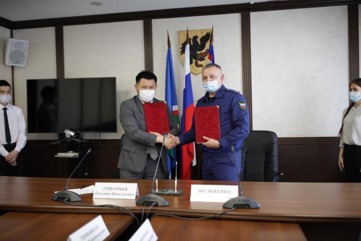 Окружная администрация и столичная прокуратура подписали соглашение