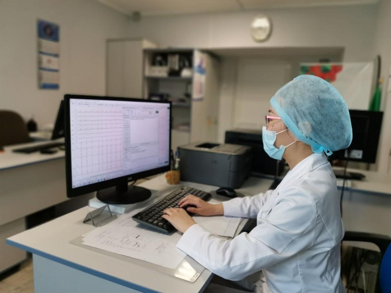 Республиканская больница №3 перешла на цифровую обработку ЭКГ