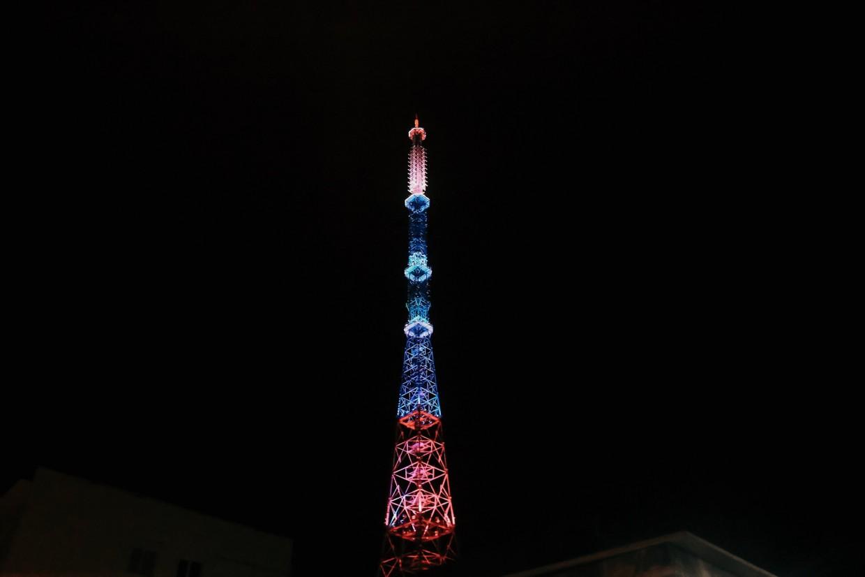 Телебашни РТРС включат подсветку в честь Дня России