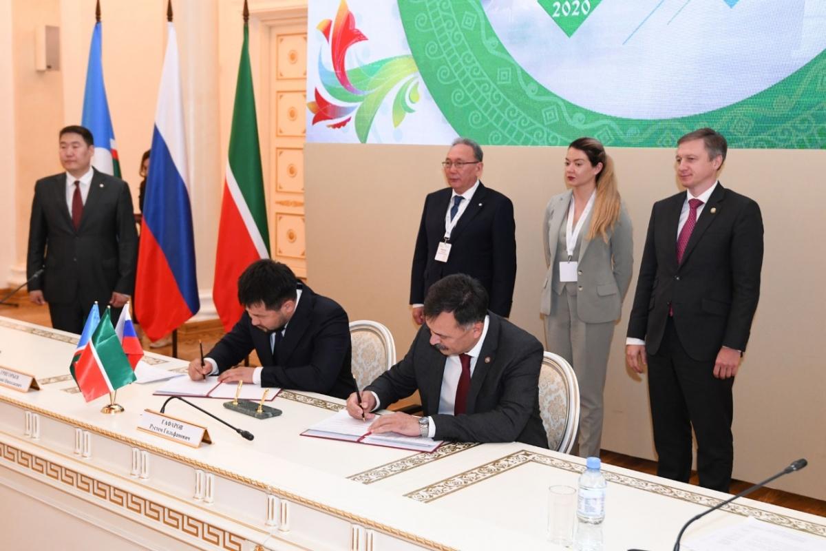 Казань и Якутск подписали соглашение о сотрудничестве