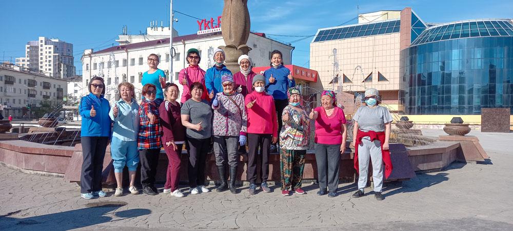 На зарядку  становись! Что мотивирует жителей Якутска идти в 7 утра на физкультуру?