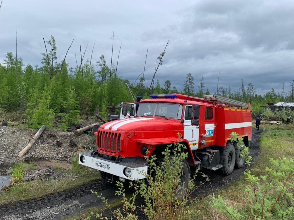 В 6 районах сложная обстановка с лесными пожарами