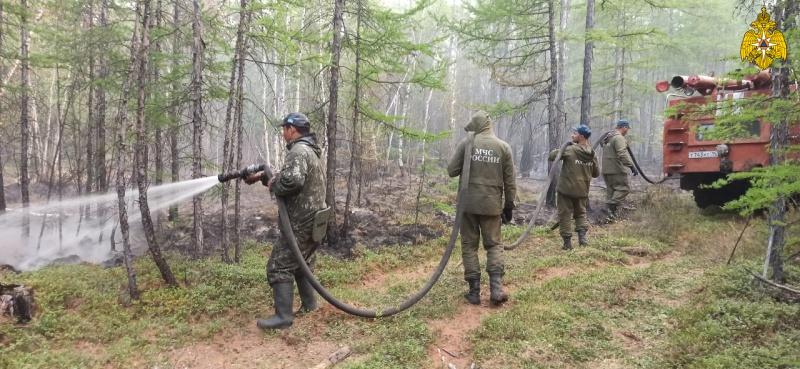 В Якутии действуют 14 лесных пожаров