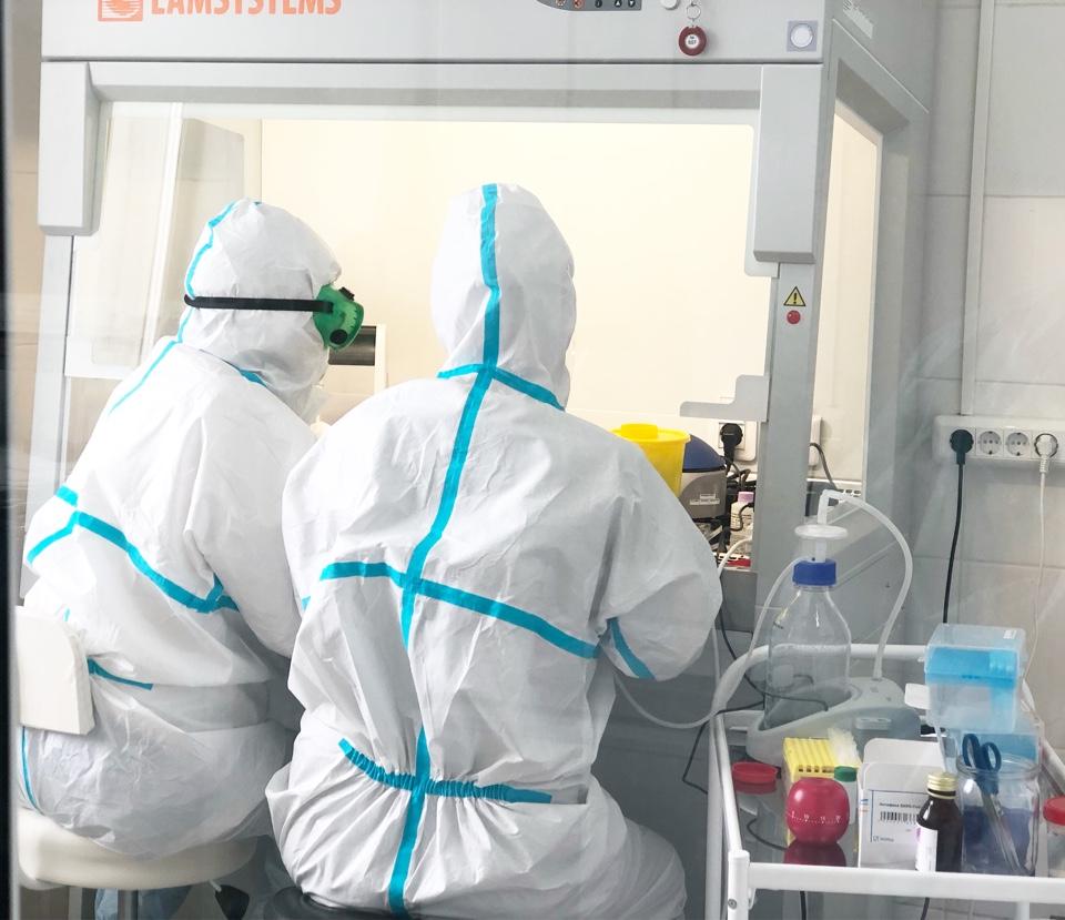 В РБ-2 открылась  ПЦР-лаборатория