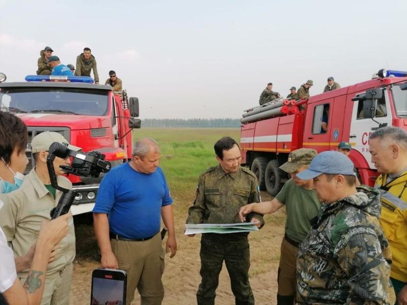 В Якутии действуют 282 природных пожара, за сутки ликвидировано 15