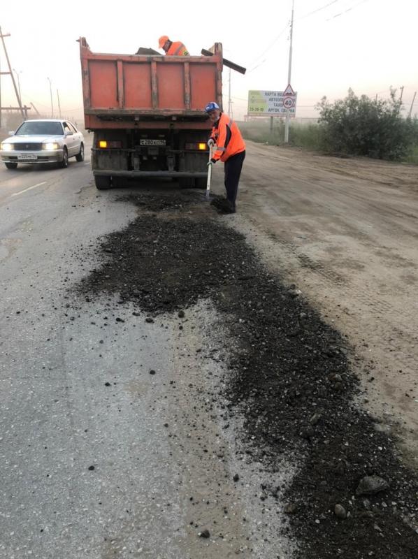 МКУ «СЭГХ»: «Ямочный ремонт по улице Можайского был запланирован с 13 июля»