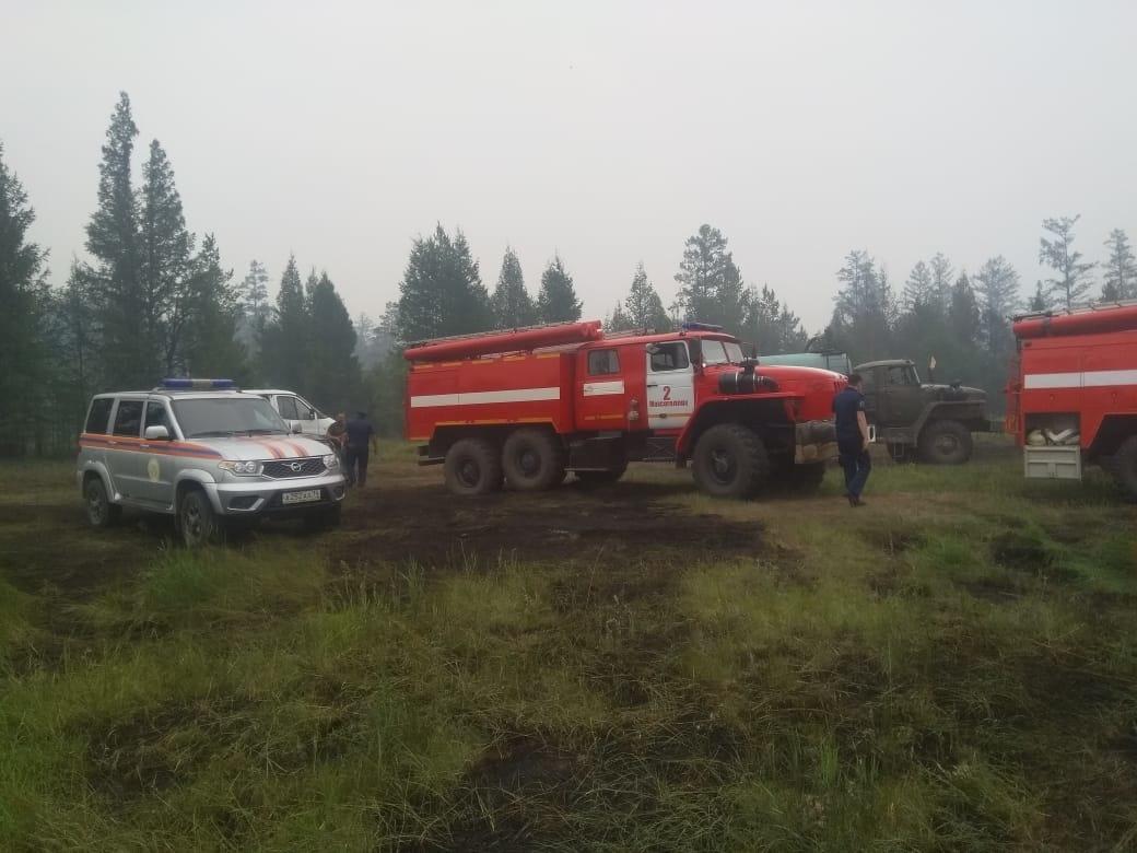 В Якутии действует 325 природных пожаров, за сутки ликвидировано 13