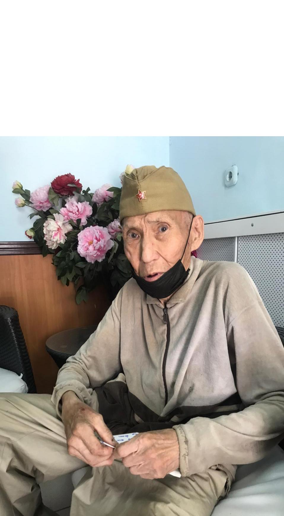 77-летний Иван БУРЦЕВ выразил благодарность магазину «Аква Стиль»