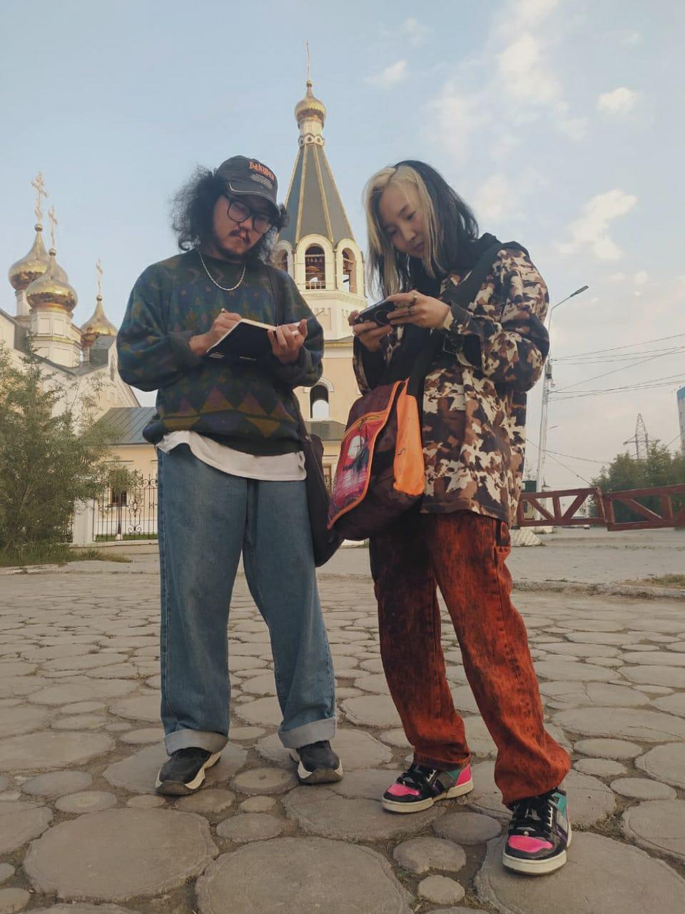 Уличная мода Якутска