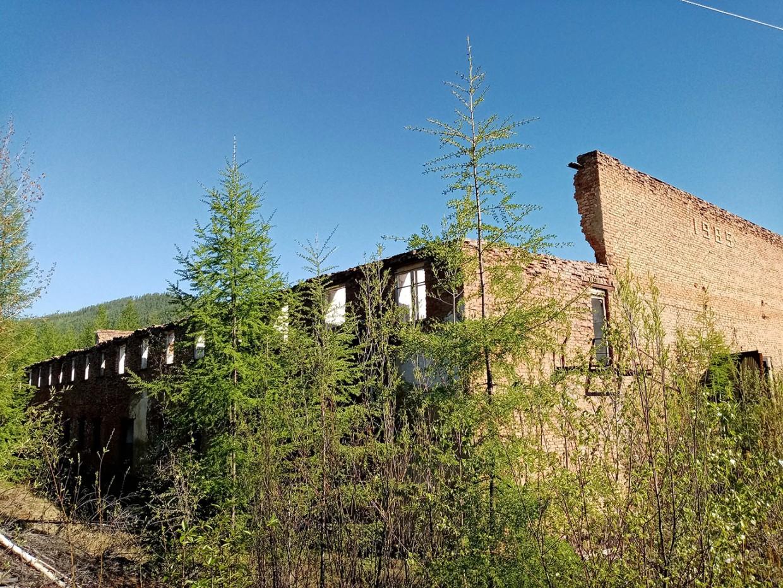 Исчезающий поселок Ыллымах