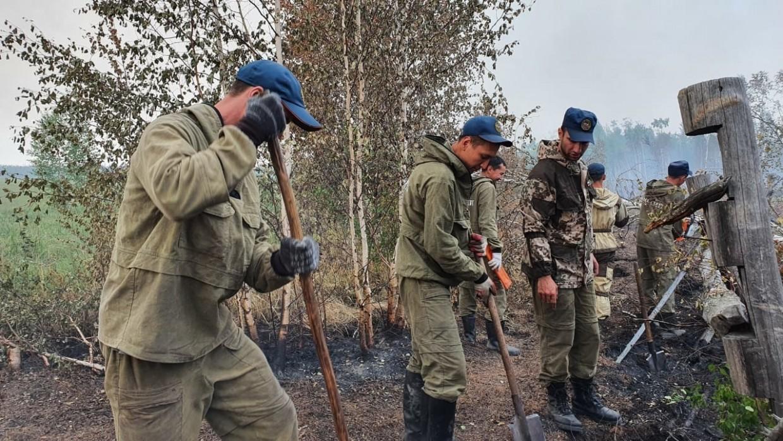 На территории Якутии действует 316 природных пожаров, за сутки ликвидировано 20
