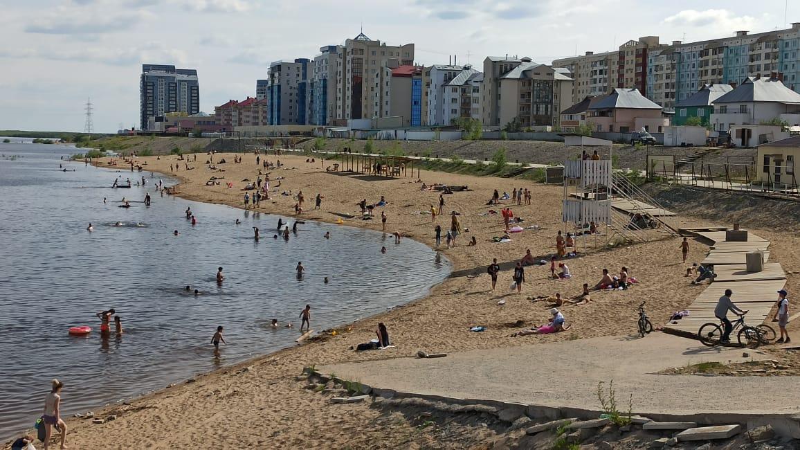 Пляж официально открывается со 2 июля