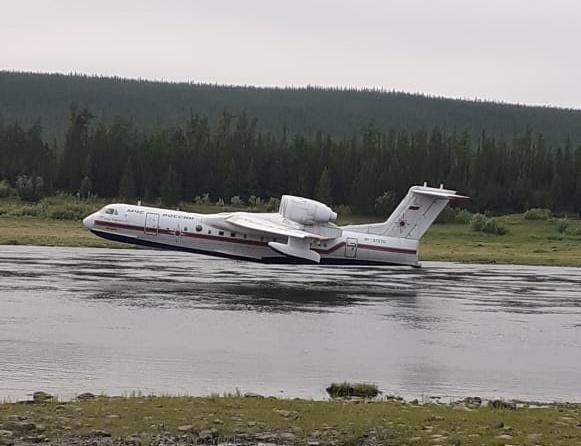 Сложная лесопожарная обстановка сохраняется на территории 10 районов Якутии