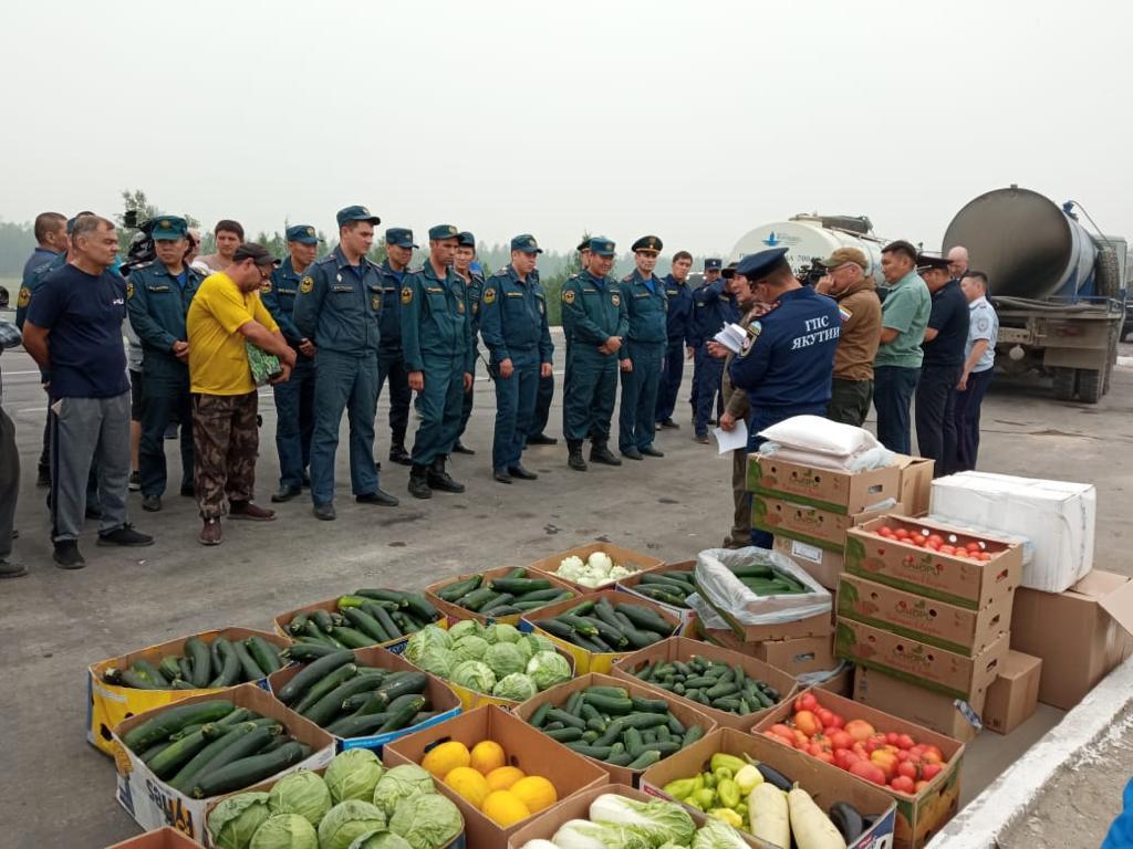 Управление сельского хозяйства Окружной администрации организовало помощь в борьбе с лесными пожарами