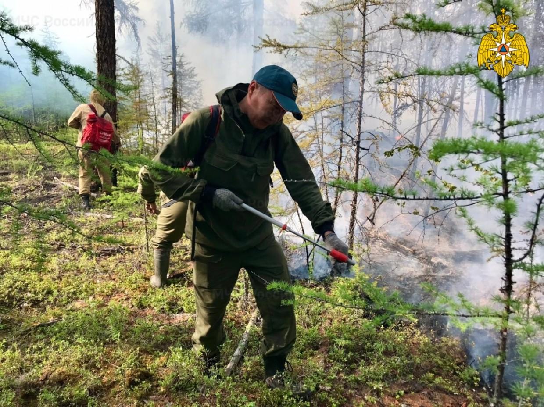 В Якутии действуют 299 природных пожаров, сложная обстановка сохраняется в 15 районах