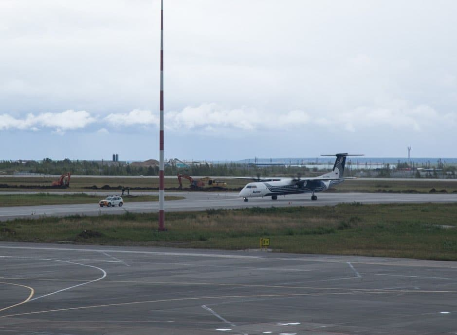 Аэропорт Якутска работает в штатном режиме