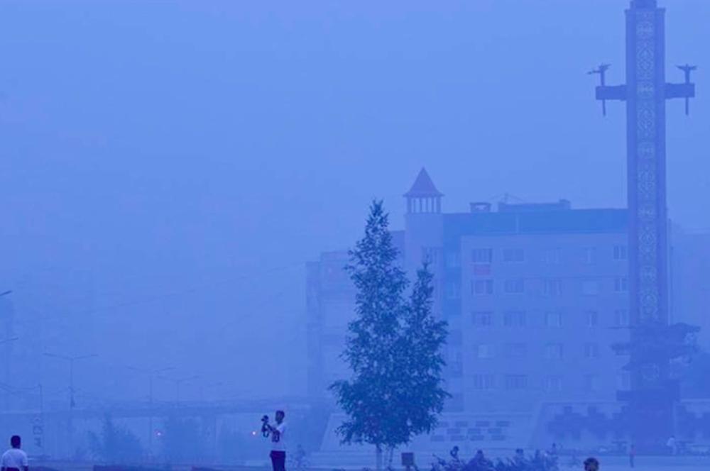В Якутске прогнозируют задымление от лесных пожаров