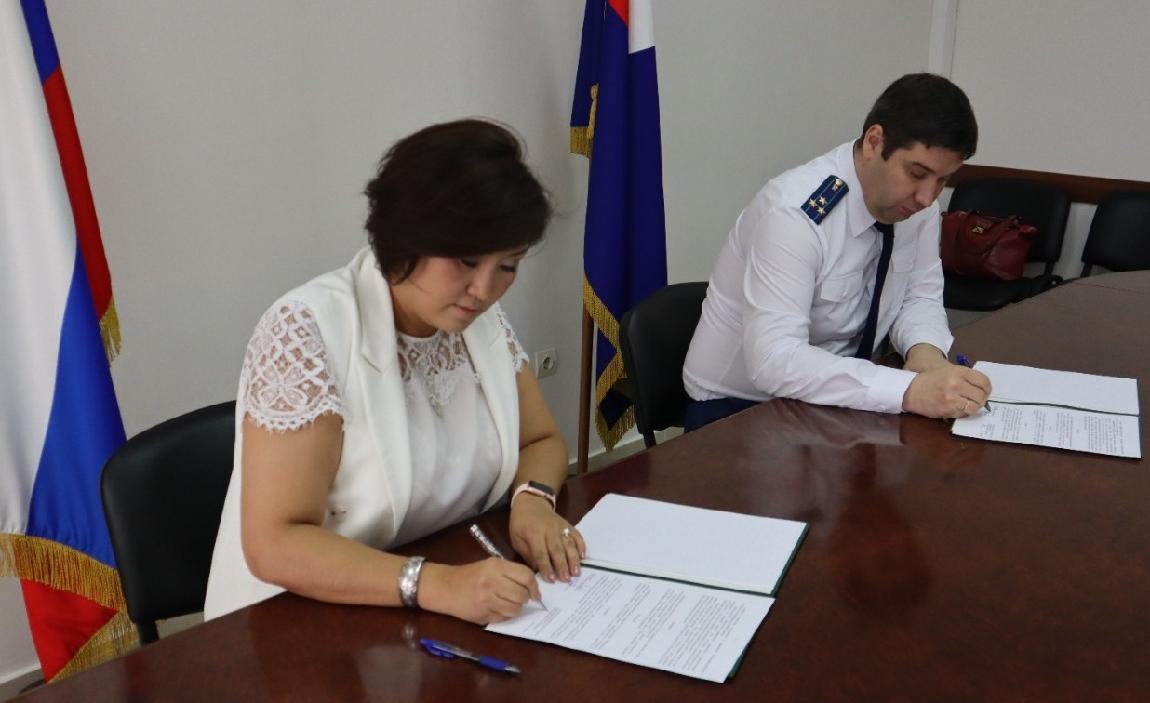 Подписано Соглашение о взаимодействии между Прокуратурой Якутии и Уполномоченным по защите прав предпринимателей в РС (Я)