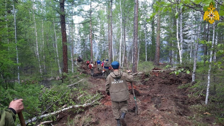 В Якутии действуют 164 природных пожара, за сутки ликвидировано 15