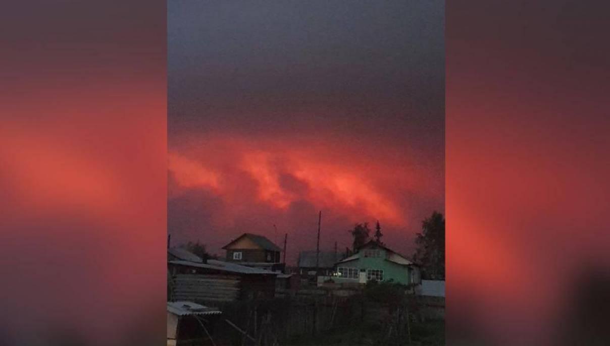 Ветры могут усложнить ситуацию с лесными пожарами в Якутии