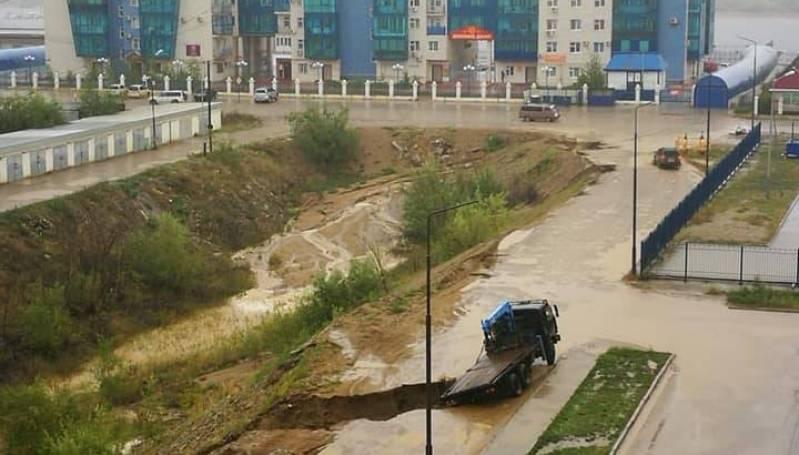 Жители Губинского округа Якутска предлагают благоустроить овраг в 203 мкр