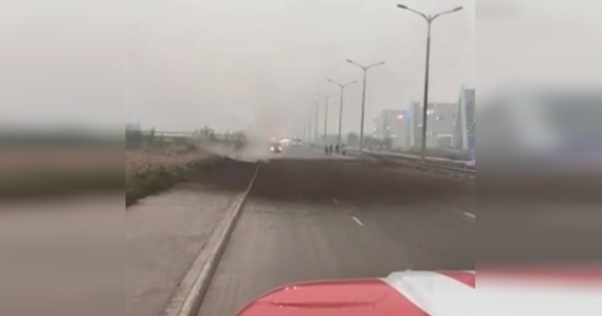 Движение по автостраде 50 лет Октября Якутска открыто