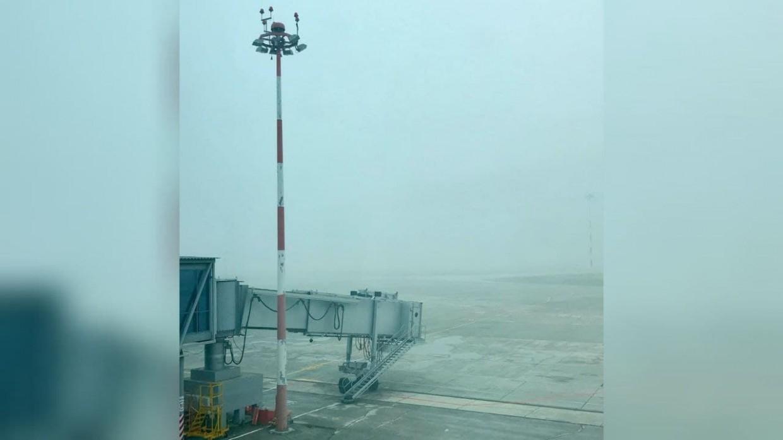 Аэропорт Якутска из-за тумана приостановил работу