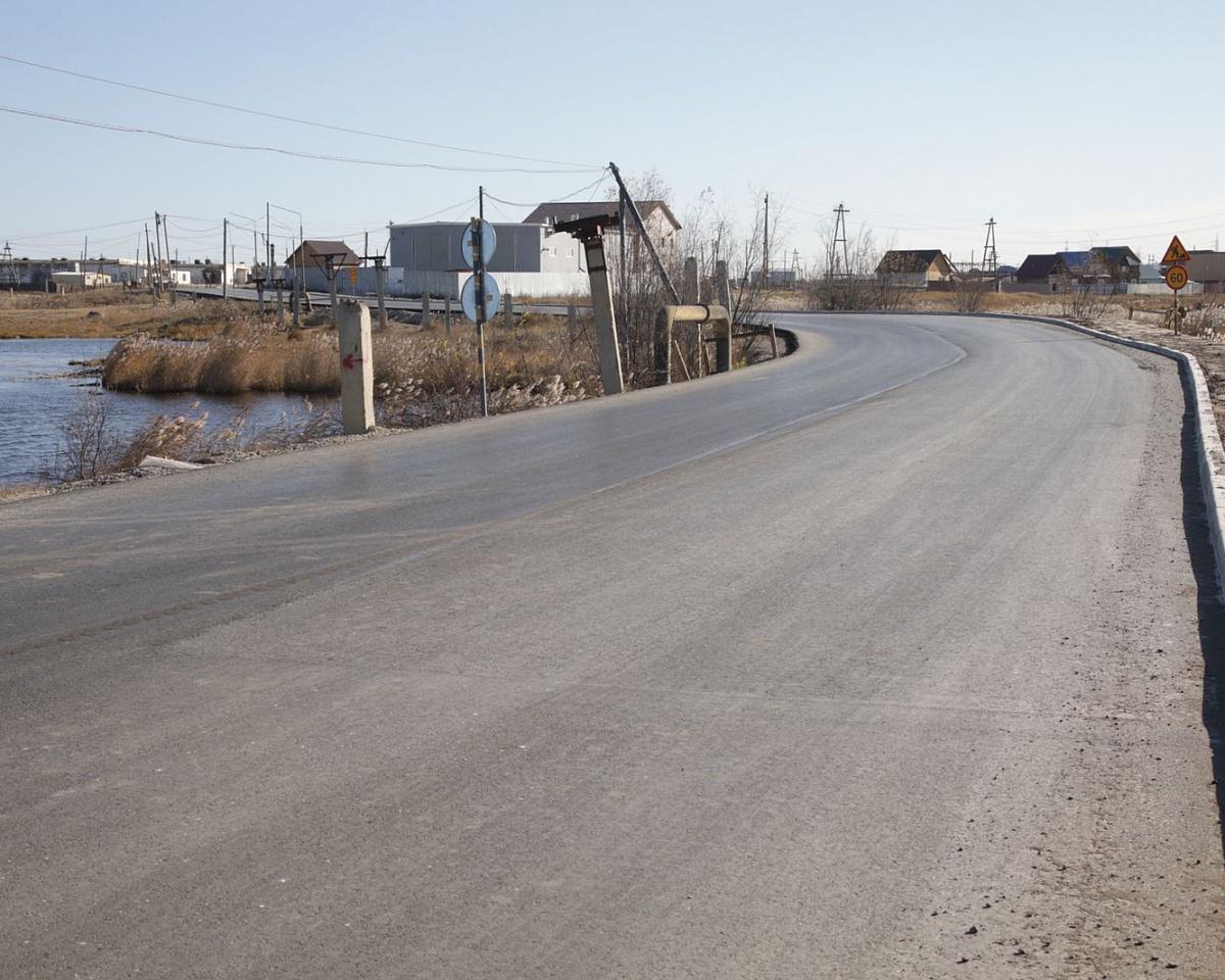 Завершены основные работы по строительству дорог в Якутске