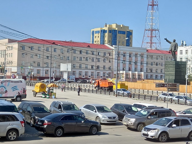 С 15 сентября в Якутске ограничат движение на проспекте Ленина