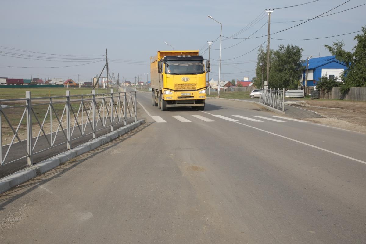 Дорожные работы в Якутске выполнены на 66%