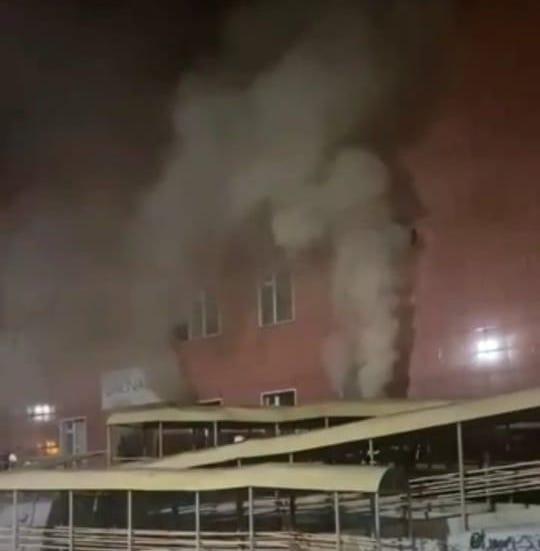 В сауне спорткомплекса «50 лет Победы» Якутска произошел пожар. Ее сдавали в аренду