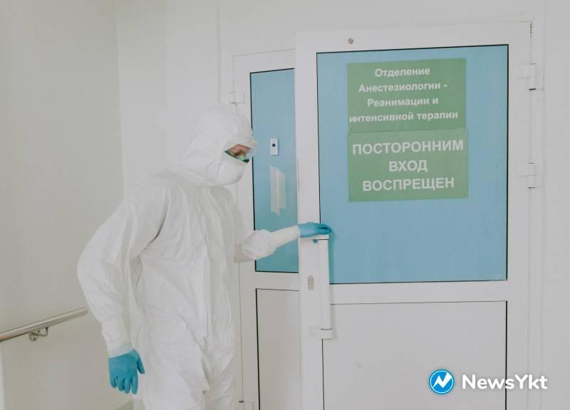 30 больных коронавирусом в Якутии находятся в крайне тяжелом состоянии