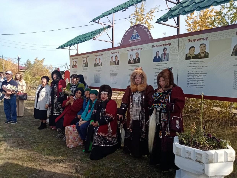 В селе Хатассы открыли музей, сквер и читальный зал