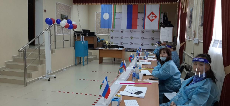 Избирательные участки открылись в Якутске
